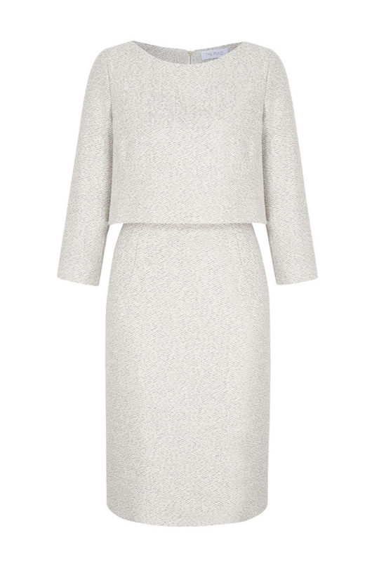 Northcote_Dress_Winter_White_Tweed_FRONT