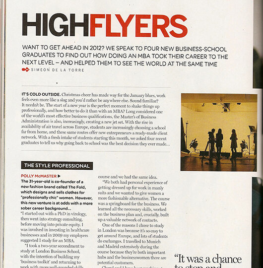 MBA High Flyers: Easyjet Magazine
