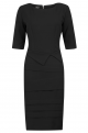 Astor Dress Black - Front - Shift Black Dress