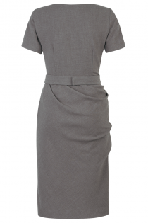 Jermyn Dress Grey - Back