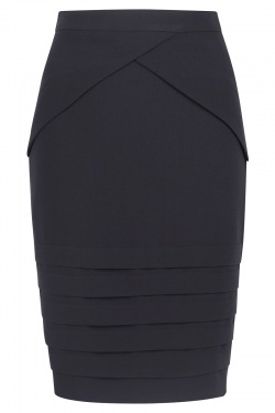 Maddox Skirt Black - Front