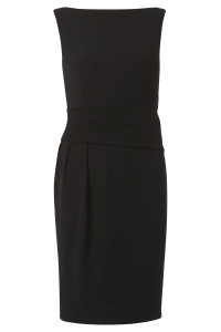Draycott Dress Black - Front