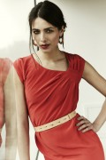 Swanston Dress Coral - Lookbook