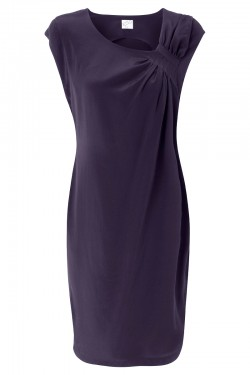 Swanston Dress Navy - Front