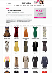 Autumn Dresses – easyliving.co.uk