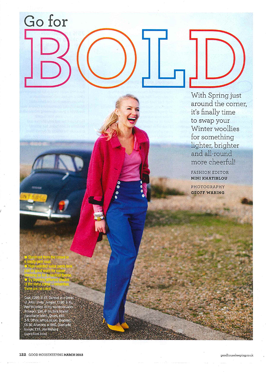 Good Housekeeping March 2013 Coverage 1