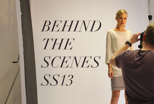 Behind the Scenes - Spring Summer 2013