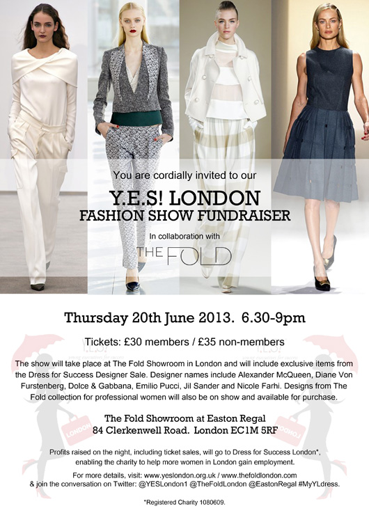Y.E.S! London Fashion Show Fundraiser