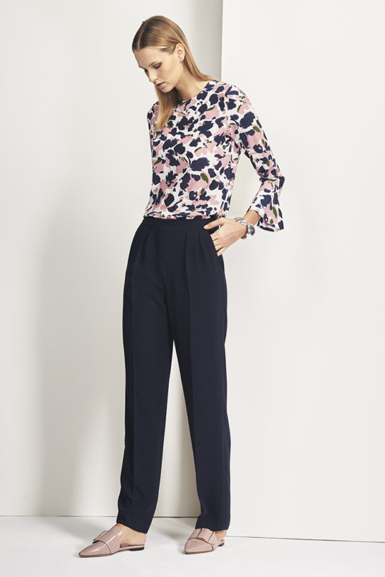 Ellesmere Top DB048_ Le Marais Wide Leg Trouser DT007_SHOT 6_465
