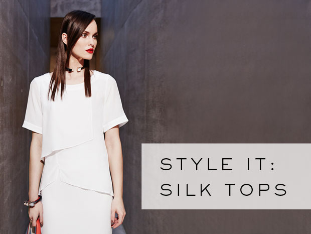 How to Style it: The Silk Tops