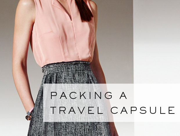 Style tips: packing a travel capsule