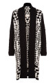 Ginza Coat Black & White - Front