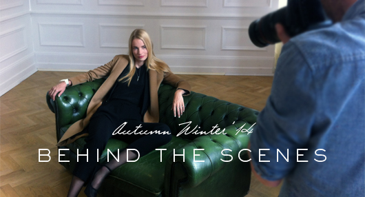AW14 COLLECTION: BEHIND THE SCENES