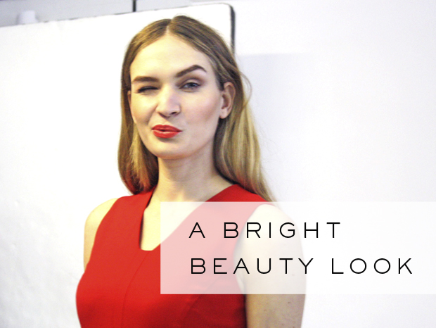 How to Wear Bright Make-up for the Office