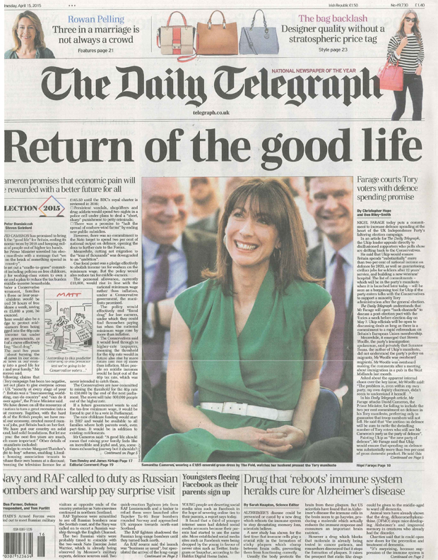 eccadf5fdcdfe The Daily Telegraph - The Fold