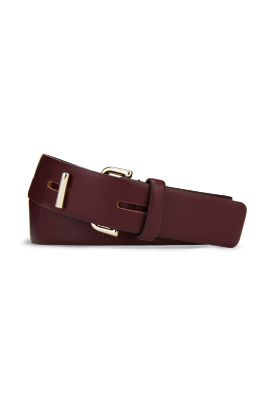 hutton BELT_BURGUNDY