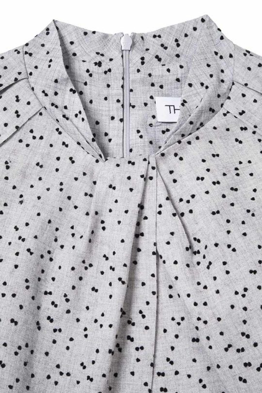 HASLEMERE_DRESS_GREY_DOTTY_FRONT_DETAIL