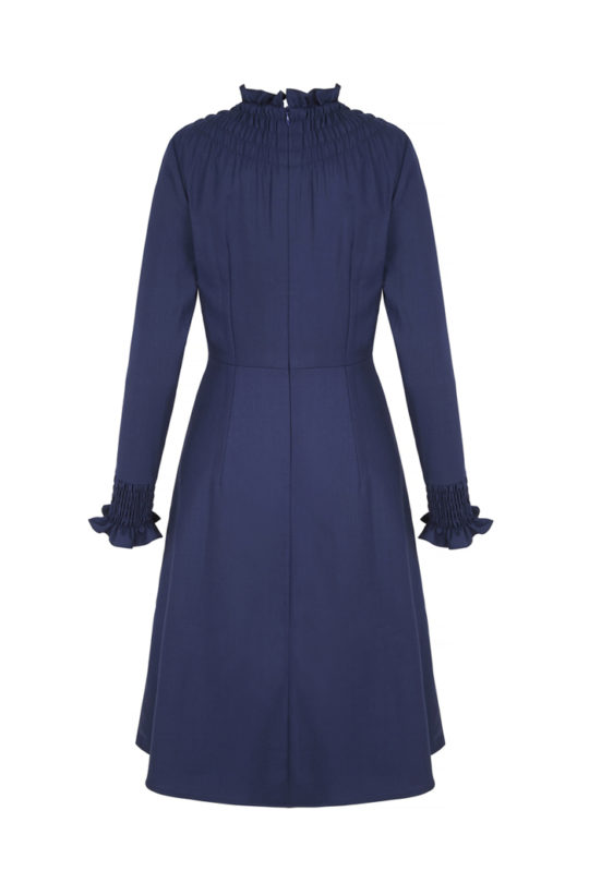 Highclere dress_back