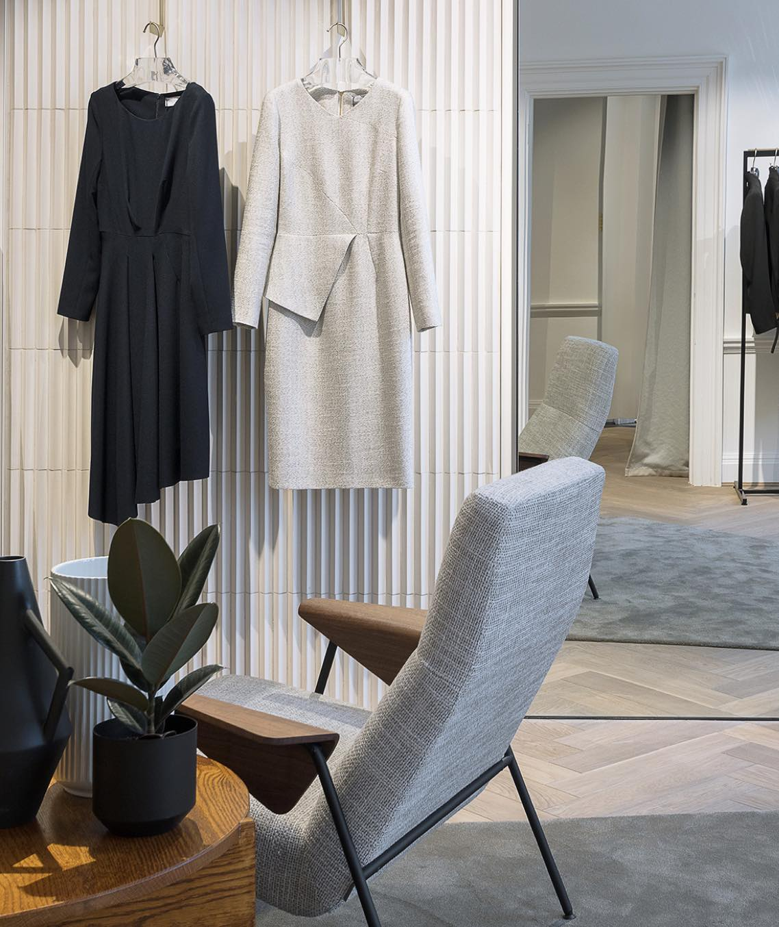 book an appointment with a stylist London store The Fold