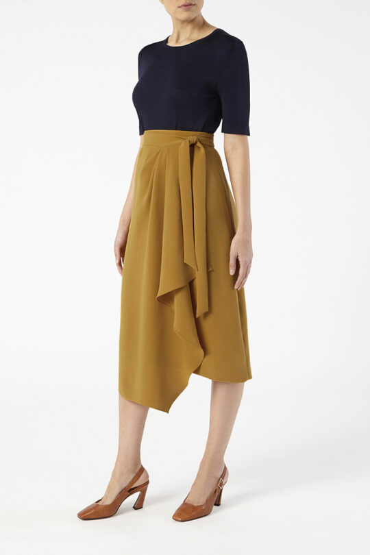 NICE_SKIRT_YELLOW_DS031_LYON_KNIT_NAVY_FRONT_44219_v2
