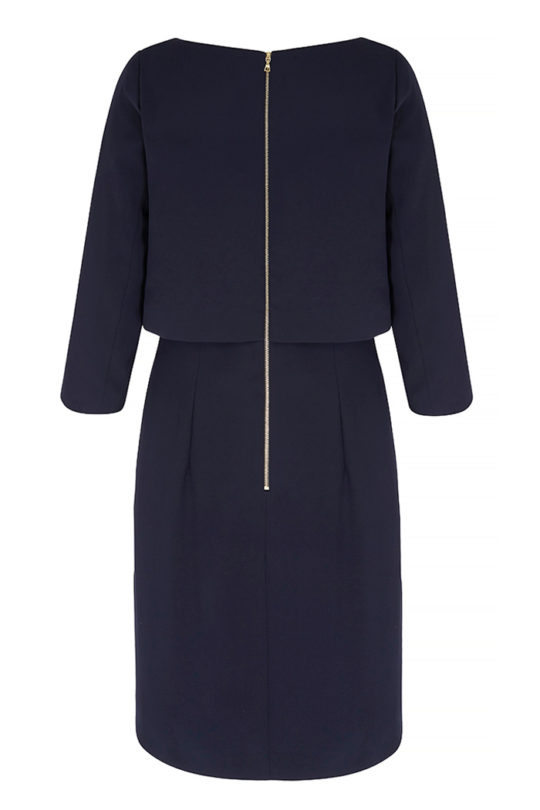 Northcote_Dress_Navy_BACK