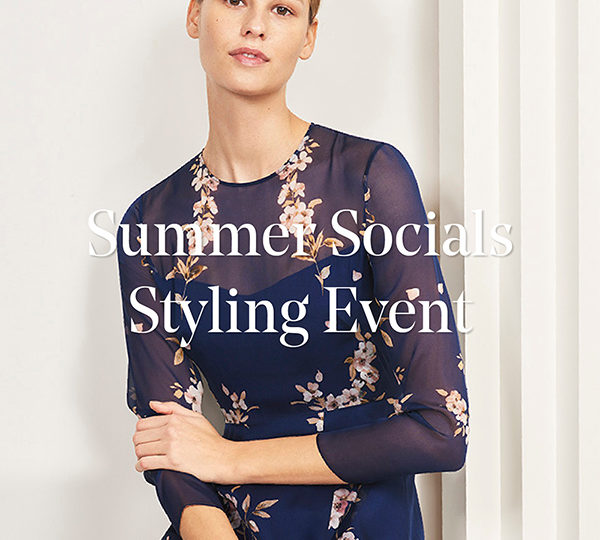 Summer Socials Styling Event
