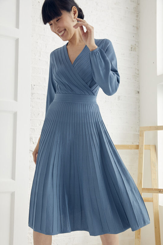 TheFold_Belluno_Knitted_Dress_Lake_Blue_DD247_1_v2