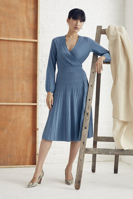 TheFold_Belluno_Knitted_Dress_Lake_Blue_DD247_2_v2