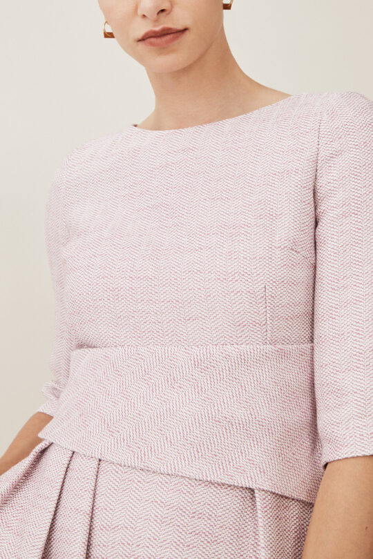TheFold_CAMELOT_DRESS_BLUSH_PINK_TWEED_D080007_3_2