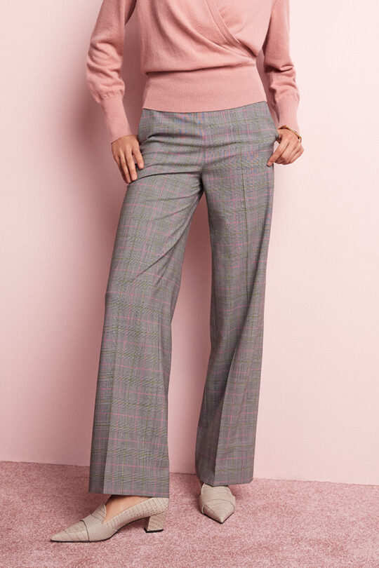 TheFold_Collingham_Wide_Leg Trousers_Check_Spring_Wool_DT071_1_v2