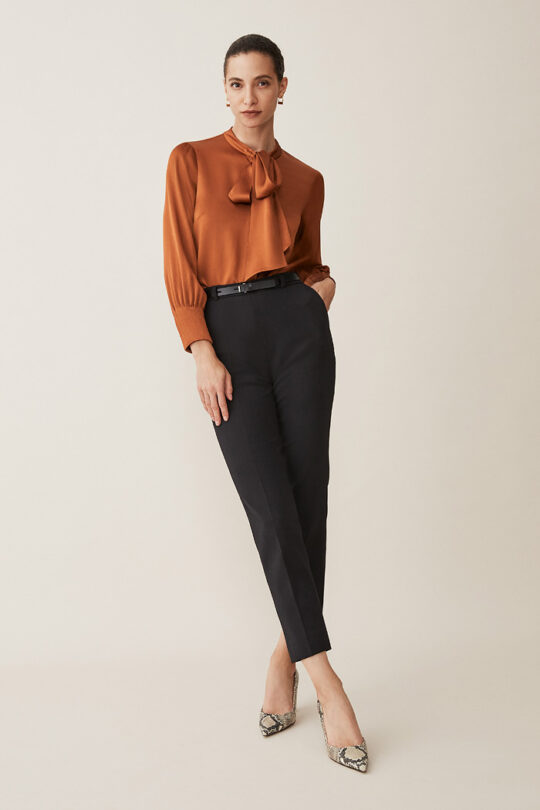 TheFold_Deloraine_Blouse_Toffee_Satin_DB114_2_v2