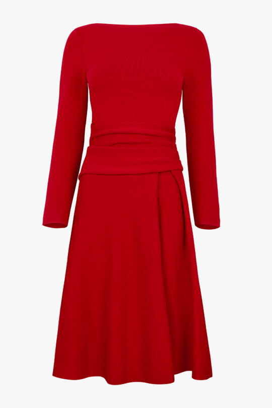 TheFold_Knitted_Camelot_Dress_Red_DD241_1_v4