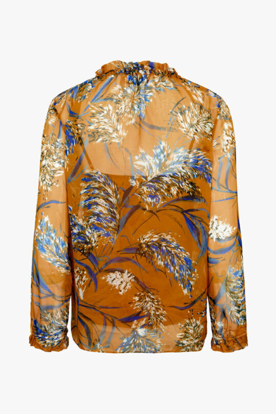 TheFold_Lancaster_Blouse_Yellow_Feather_Print_DB127_2_v4