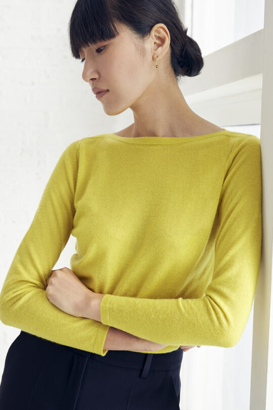 TheFold_Vinci_Knitted_Top_Citron_Yellow_Cashmere_DK066_1_v2