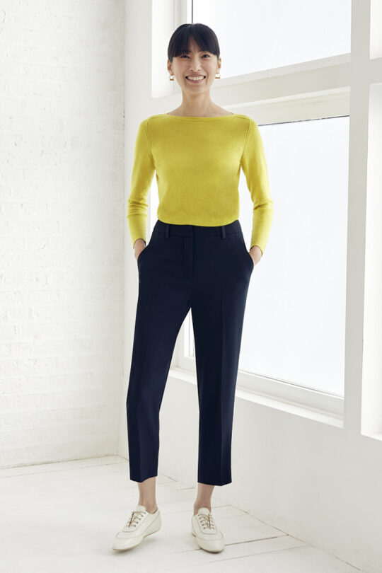 TheFold_Vinci_Knitted_Top_Citron_Yellow_Cashmere_DK066_2_v2