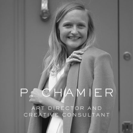 polly chamier fold woman