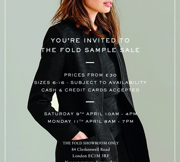 Sample Sale 2016