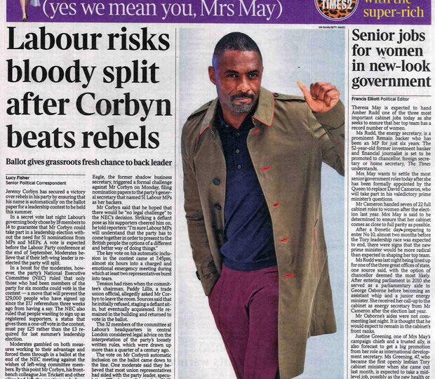The Times – 13 July 2016