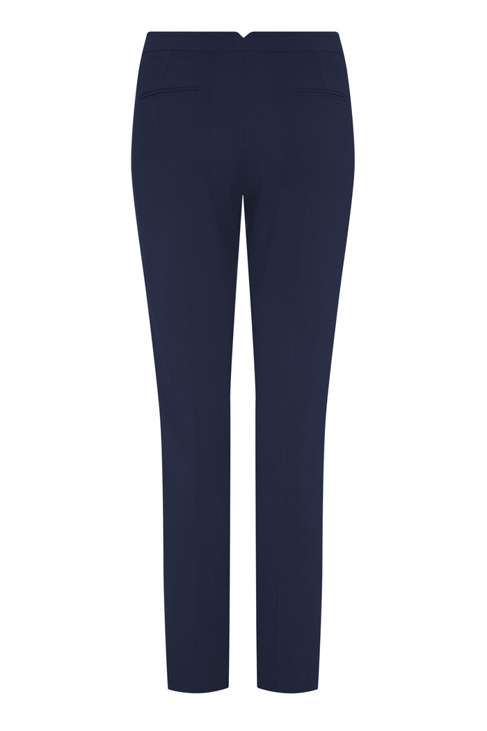 Le Marais Tailored Trousers Navy 3