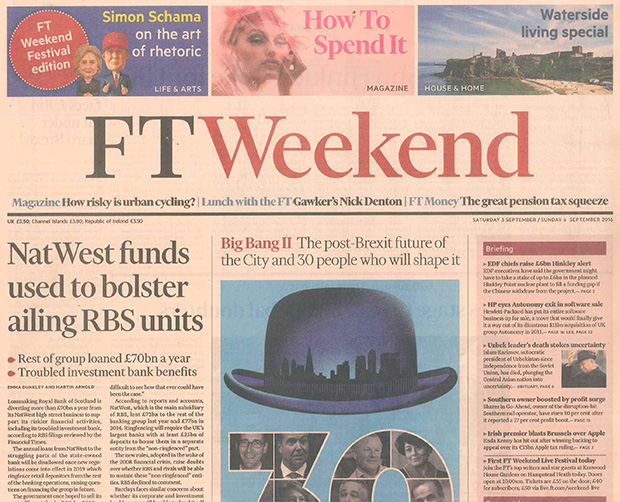Financial Times – 03 September