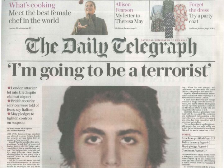 The Daily Telegraph – 7 June