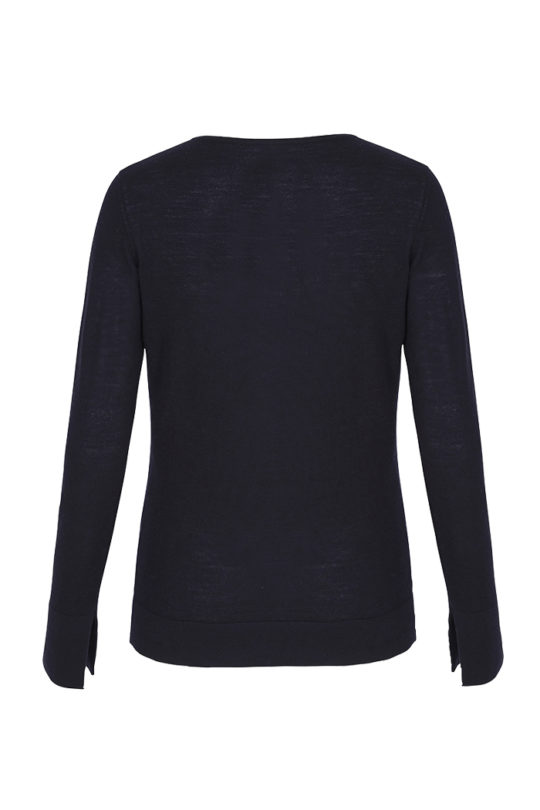 Iseo_Jumper_Navy_Merino_BACK