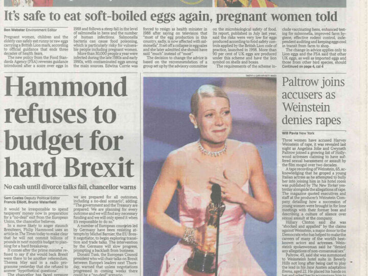 The Times – 11 October