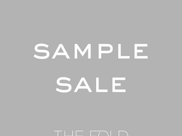 Sample Sale December 2017