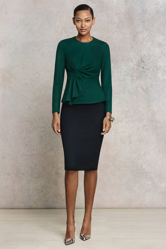 Calverley_Top_Dark_Green_Wool_Jersey_DB035_EC1_Pencil_Skirt_Blk_DS007_1736