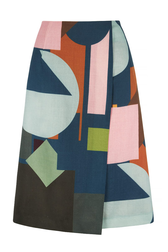 Symond Skirt Multicoloured  Light Wool