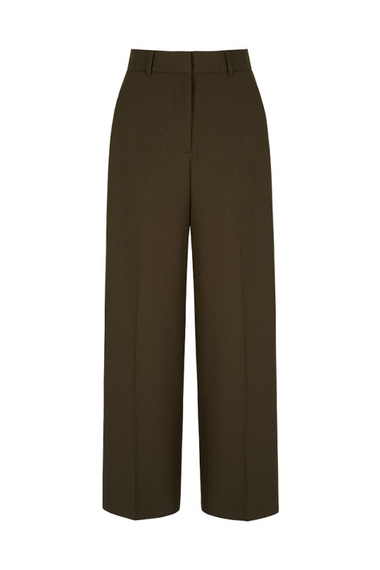 Dallington Trousers Khaki Crepe