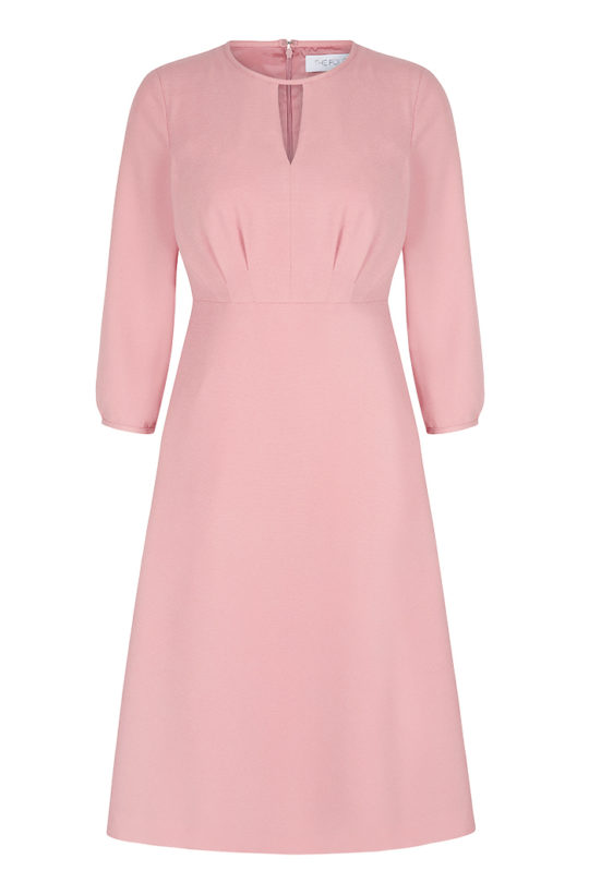 Rochester Dress English Rose Crepe