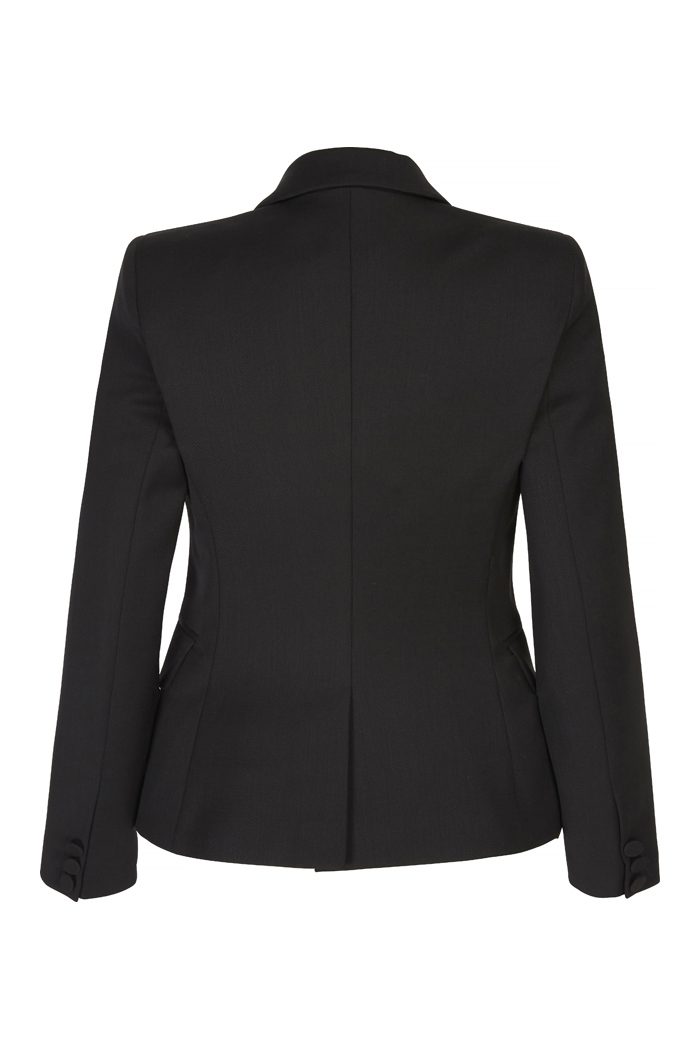 Ec1 Tailored Jacket Black