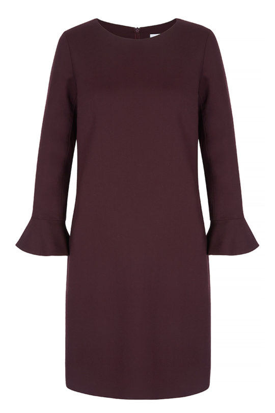 Carnaby Dress Plum Crepe